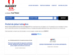 Magnet CV- Cea mai mare varietate de job-uri din județul Sibiu