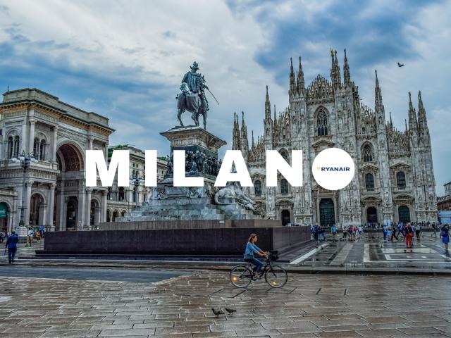 RyanAir anunță cursă directă din Sibiu, spre Milano și Liverpool