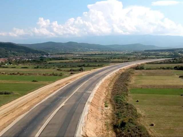 """Autostrada către Boița a depășit stadiul de 50%. """"În primăvară să finalizăm complet un sens"""""""