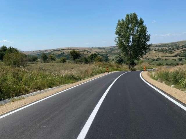 Modernizarea drumului județean Ocna – Topârcea – Ludoș a fost finalizată